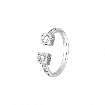 Le Cube Diamant large ring