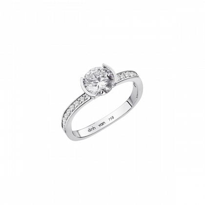 Flore large engagement ring
