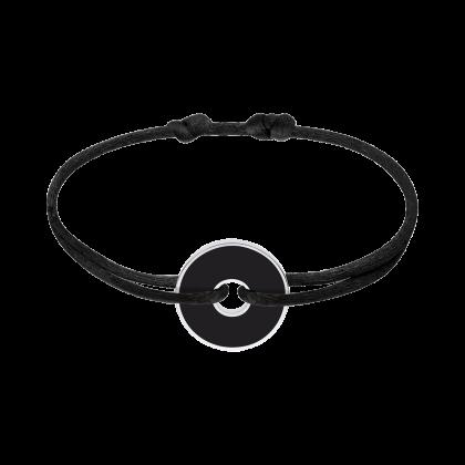 Bracelet sur cordon Pi Black & White