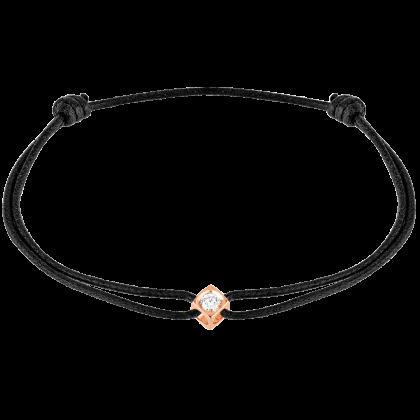 Pulsera cordón Le Cube Diamant