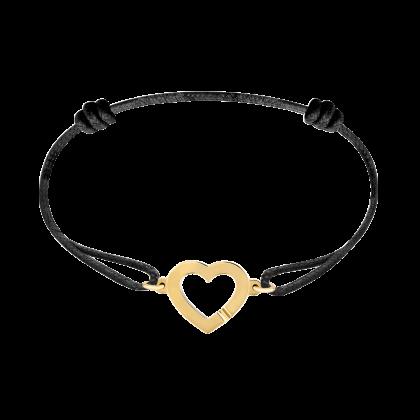 Bracelet sur cordon Cœur R12