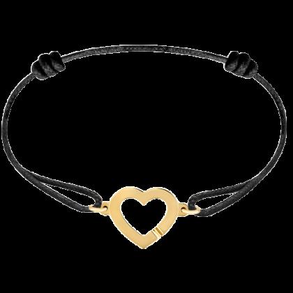 Coeur R12 cord bracelet