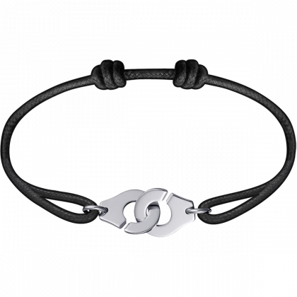 Bracelet sur cordon Menottes dinh van R12