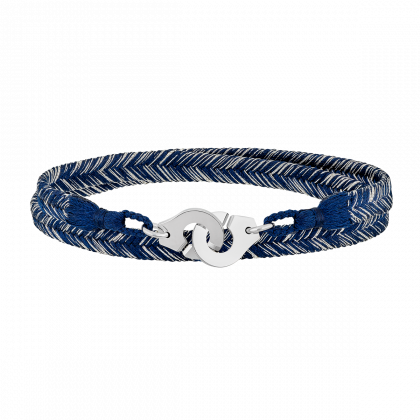 Woven bracelet Menottes dinh van R10