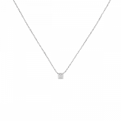 Le Cube Diamant small necklace