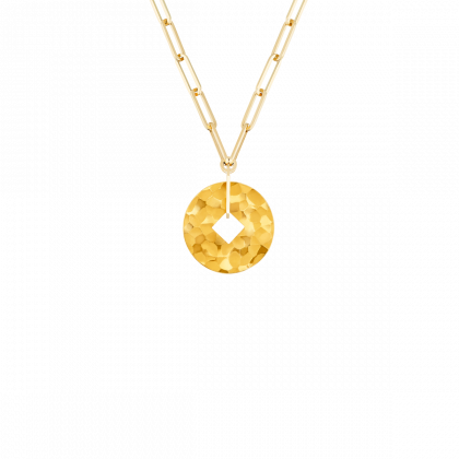 Pi Square necklace 23 mm