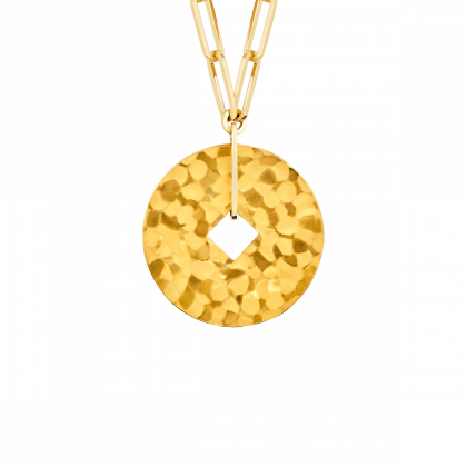 Pi Square necklace 35 mm