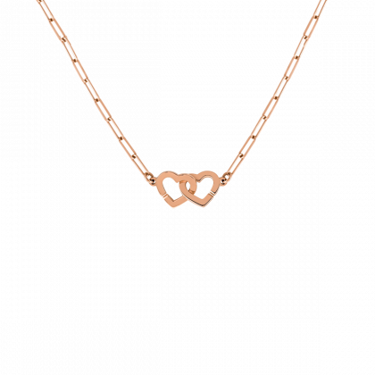 Collar Double Cœurs R9