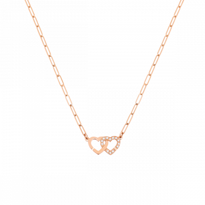 Double Cœurs R9 necklace