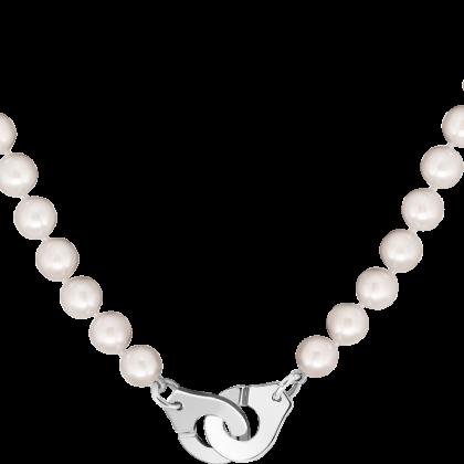 Collier de perles Menottes dinh van R12