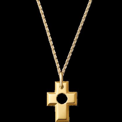 Pierced Cross pendant 15 mm