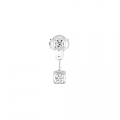 Le Cube Diamant mono earring