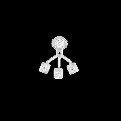 Mono earring Le Cube Diamant