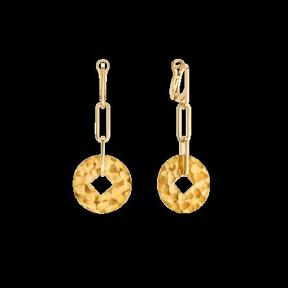 Pi Square earrings