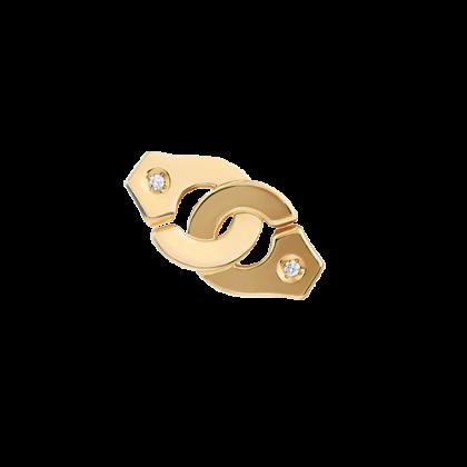 Mono boucle d'oreille Menottes dinh van R8