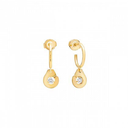 Menottes dinh van R8 hoop earrings