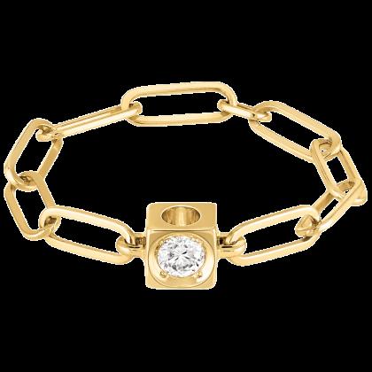Bague chaîne Le Cube Diamant