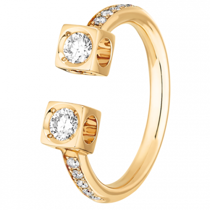 Le Cube Diamant large ring