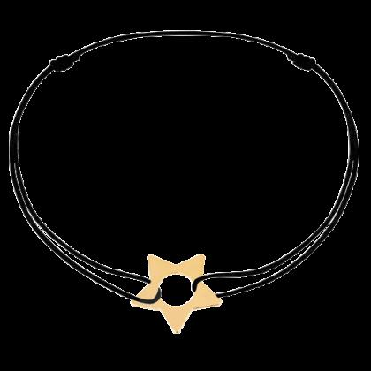 Star cord bracelet