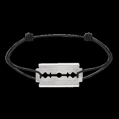 Bracelet sur cordon Lame de Rasoir grand modèle