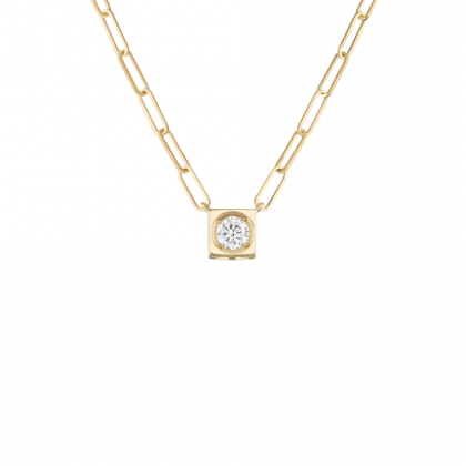 Le Cube Diamant large necklace