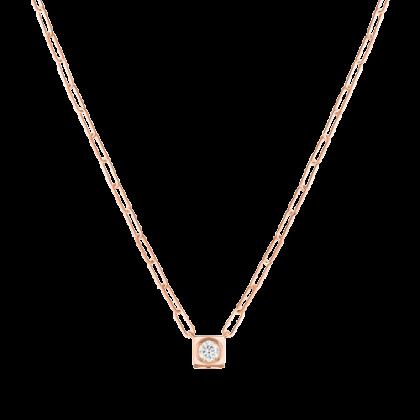 Le Cube Diamant large necklace