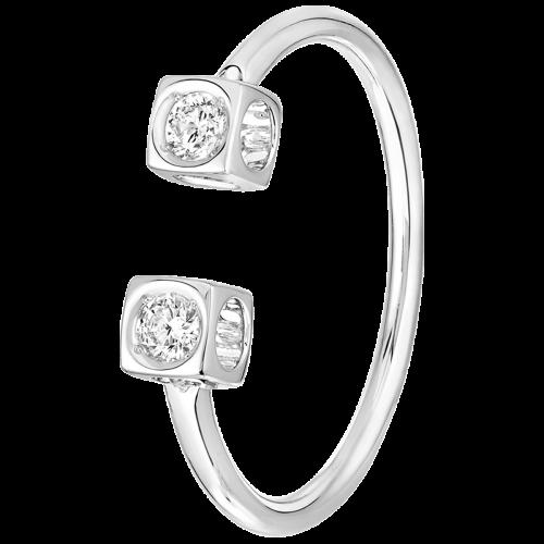 prix d'usine grande remise de 2019 qualité parfaite Le Cube Diamant ring