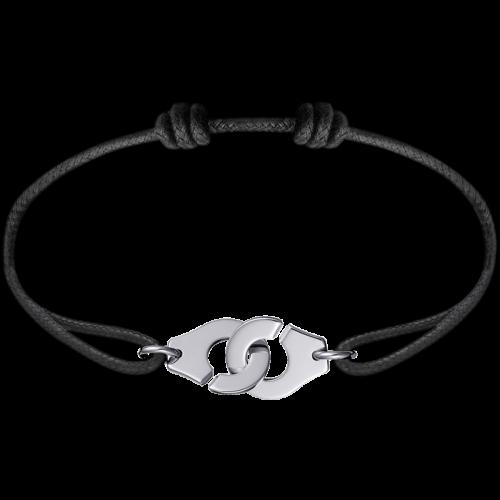 photos officielles 225e9 c0182 Bracelet sur cordon Menottes dinh van R12