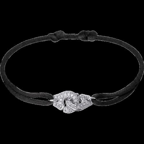 eb9a4a1b8b8 Bracelet sur cordon Menottes dinh van R10 - or blanc - dinh van ...