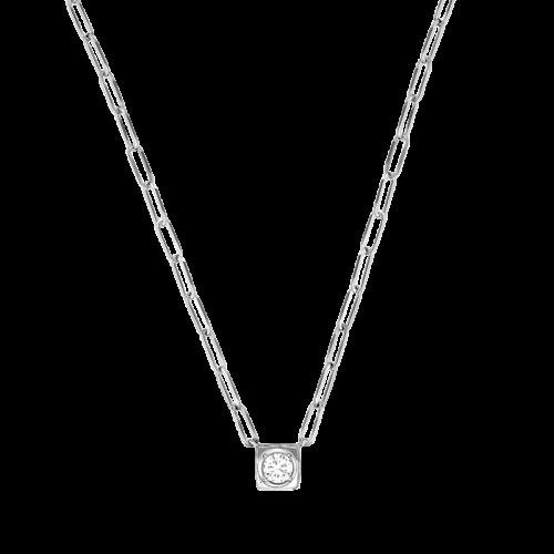 qualité parfaite détaillant qualité-supérieure Le Cube Diamant large necklace