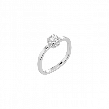Le Cube Diamant small ring