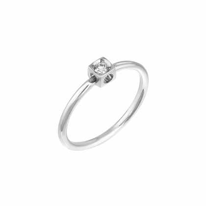 Anillo  Le Cube Diamant XS