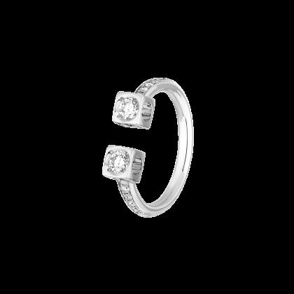 Bague Le Cube Diamant grand modèle