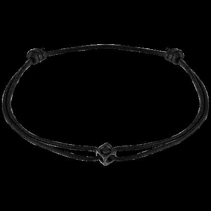 Le Cube Diamant cord bracelet