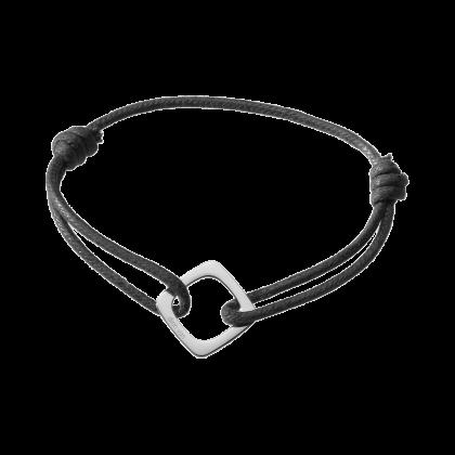 Impression large cord bracelet