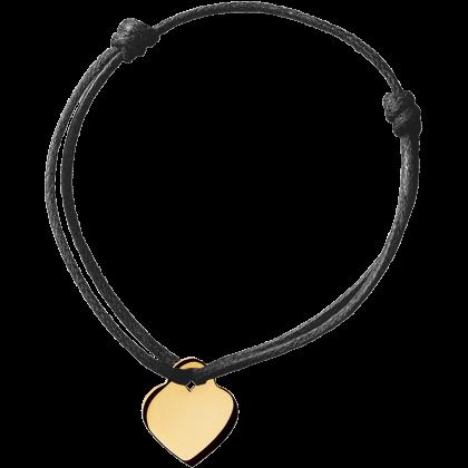Cœur cord bracelet