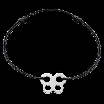 Bubbles butterfly cord bracelet