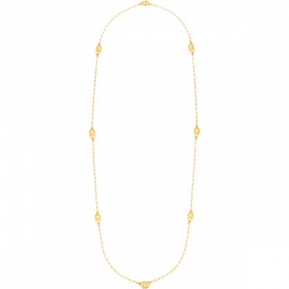 Menottes dinh van R8 long length necklace