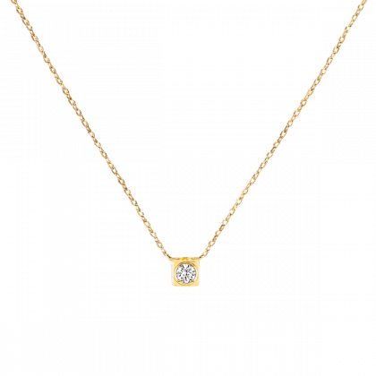 Collar Le Cube Diamant modelo mediano