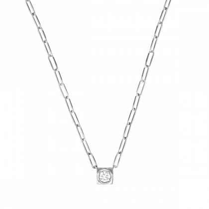 Collier Le Cube Diamant grand modèle