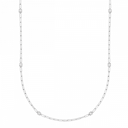 Le Cube Diamant long length necklace