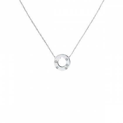 Cible small necklace
