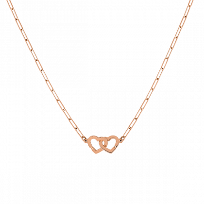 Collier Double Cœurs R9