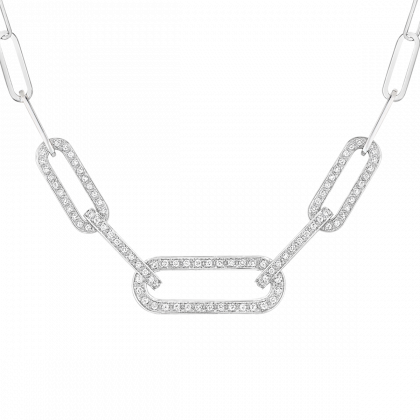 Maillon L necklace