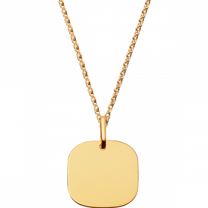 Square Tag small pendant