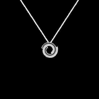 Pendentif sur chaîne Spirale dinh van petit modèle