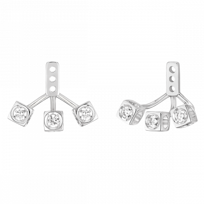 Le Cube Diamant under earrings