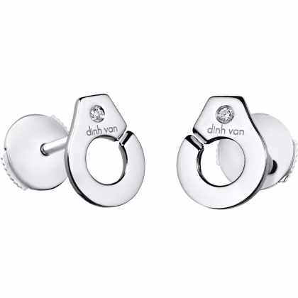 Pendientes botón Menottes dinh van R7,5