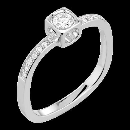 Le Cube Diamant small ring