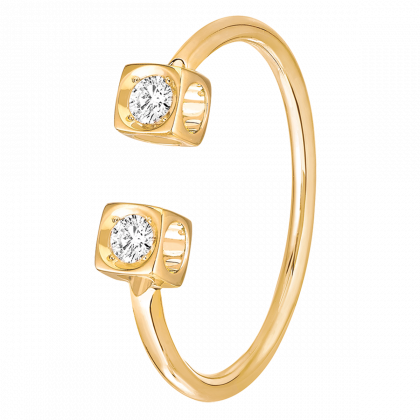 Le Cube Diamant ring